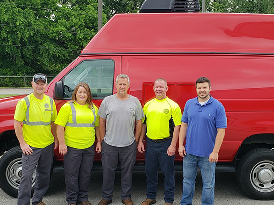 Frankfort KY Sewer Inspection Staff