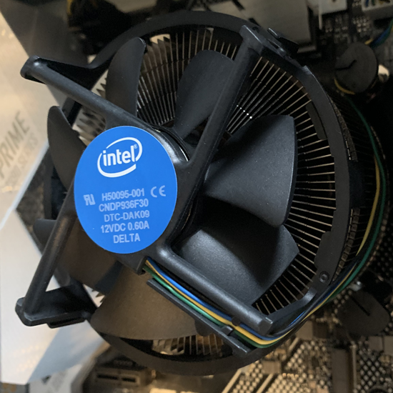 CPU in Rackmount Computer