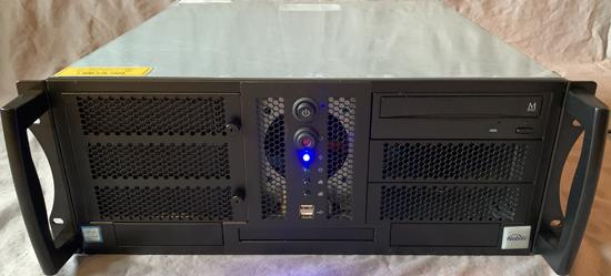 Rackmount Computer View Front